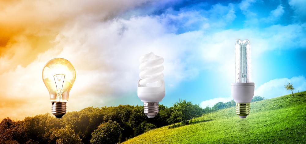 Tiết kiệm năng lượng với đèn chiếu sáng